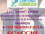 Fase Regionale Campionati Studenteschi Scacchi Marzo Lauria
