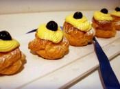 Zeppole giuseppe (pasta choux crema pasticcera ricetta montersino)