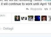Twitter #Music sarà rimossa dall'App Store Aprile