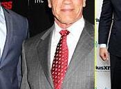 Manganiello bellissimo alla premiere Sabotage Arnold Schwarzenegger