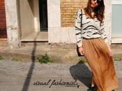 Gonna lunga spacchi laterali Zara: perfetta Primavera (OUTFIT)