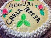 Torta compleanno crema, panna cioccolato