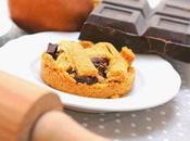 Crostatine pere cioccolato fondente
