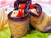 Involtini melanzane dell'Est East Style Eggplant Rolls