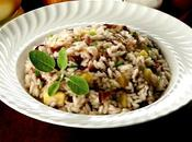 Risotto radicchio mele/Risotto with apples