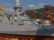 "Riva Trigoso (Ge)/ Fincantieri. Varata quarta Fregata Multiruolo ""Carabiniere"""