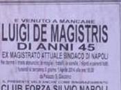 Luigi Magistris morto! scherzo macabro suoi avversari…