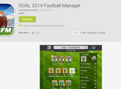 Goal 2014 Football Manager: gioco calcio manageriale Android