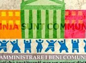Amministrare beni comuni. pratiche costituenti nuovo diritto