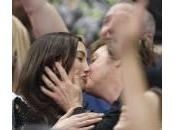 Paul McCartney Nancy Shevell: bacio durante partita basket (foto)