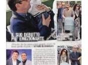 Carlo Conti piccolo Matteo: week mare famiglia
