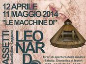 macchine Leonardo Vinci mostra Varese, Villa Bassetti Santa Caterina Sasso.