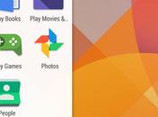 Confermate nuove icone Moonshine Google (DOWNLOAD)