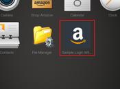 Login Amazon nuova feature tablet Kindle