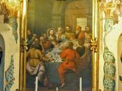 Salsomaggiore, l'Ultima Cena nella chiesa dedicata Bartolomeo Guglielmo Ponzi