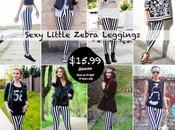 'Romwe' Little Zebra Leggings Sale