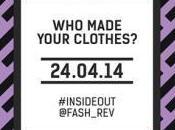Fashion Revolution Day: moda cambiare stessa mondo. Diciamolo aprile 2014