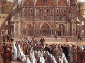 pacifica convivenza quadro Gentile Giovanni Bellini predica Marco Alessandria d'Egitto 1504-1507)