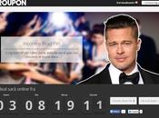 Groupon mette vendita incontro Brad Pitt