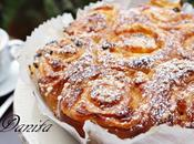 torta rose alla crema pasticcera