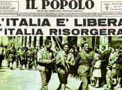 Aprile 1945 Anniversario della liberazione d'Italia