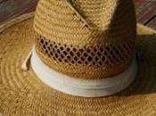 L'handmade tramonta: cappello paglia