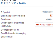 Vodafone 349€ Euronics. Garanzia Italia