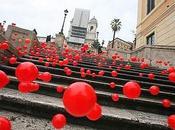 futurista Graziano Cecchini, riempita Piazza Spagna pallini, effrazione casa gieffini!