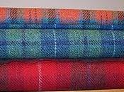 Harris Tweed originale scozzese, fatto telaio