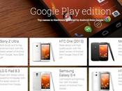 Samsung Galaxy Google Play Edition avvistato Store