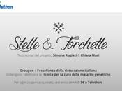 "Groupon presenta l'iniziativa charity ""Stelle Forchette"""