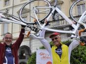 Giro d'Italia bicicletta librerie: ecco staffetta pensata libri