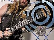 "ZAKK WYLDE Ritrovata chitarra rubata ""Pelham Blue Bullseye"""