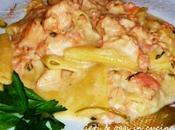 Paccheri salmone formaggio Squacquerone