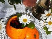 Frutti bosco coppa arancia