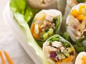 Schiscettaperfetta: involtini carta riso verdure tacchino