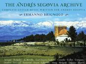 Guitars Speak terzo anno Andres Segovia Archive, Svizzera, Polonia Ermanno Brignolo