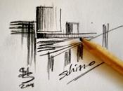 Un'architettura schizzata