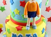 Doraemon Nobita cake cupcakes: torta cupcakes bimbo