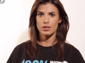 "Unicef, ""100% vacciniamoli tutti"". Testimonial Elisabetta Canalis"