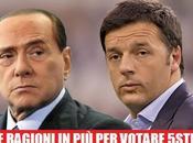 Berlusconi Renzi: ragioni votare 5stelle!