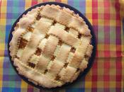 Crostata Gluten-free mele annurche confettura albicocche, mandorle maraschino.