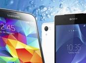 Samsung Galaxy Sony Xperia video confronto italiano