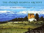Guitars Speak terzo anno Andres Segovia Archive, Italia Ermanno Brignolo