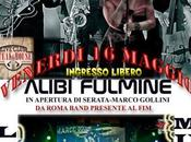 Notte noir ALIBI FULMINE Venerdi maggio Music Club Steackhouse A.Ghiglione Genova Sampierdarena