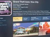 Grand Theft Auto III, Vice City Andreas disponibili Kindle Fire