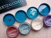 Collezione Quetzalcoatl Neve Cosmetics: ombretti! Peyote Quetzal Rituale Desert