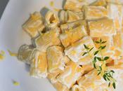Mezze maniche rigate garofalo ricotta, timo limone