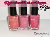 KIKO Nuovi Nail Laquer 485, 504, (swatch review)