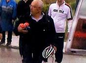 Giro d'Italia, Riconsegnato casco rubato Caruso